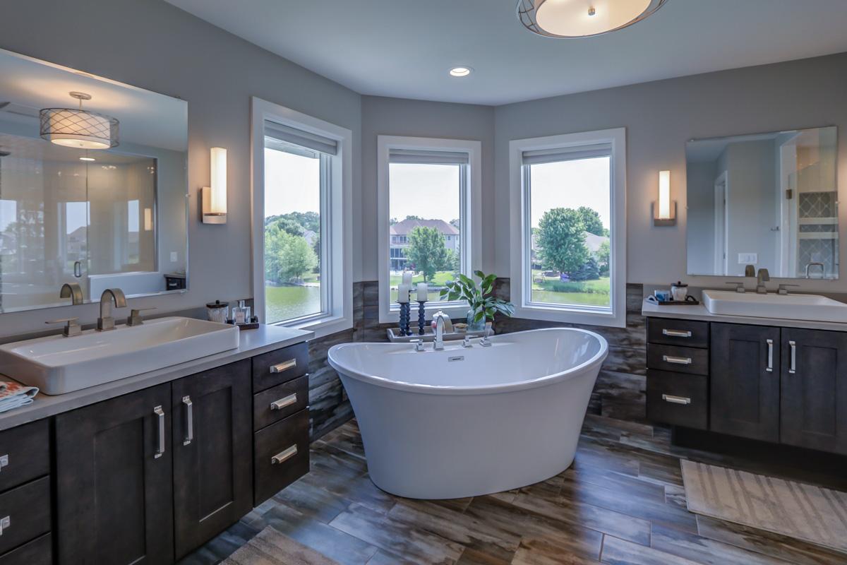 Trademark Homes bathroom